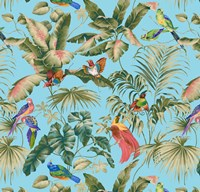 Jungle Canopy Aqua Fine-Art Print