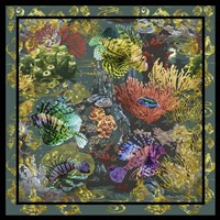 Golden Coral Seas Fine-Art Print