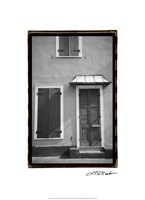 French Quarter Architecture III Fine-Art Print