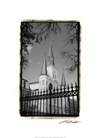 St. Louis Cathedral, Jackson Square II Fine-Art Print