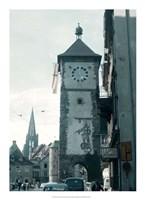 Clock Tower I Fine-Art Print