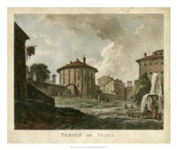 Temple of Vesta Fine-Art Print