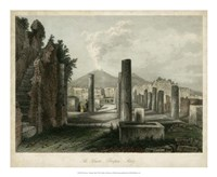 The Forum- Pompeii, Italy Fine-Art Print