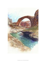 Rainbow Bridge - Lake Powell, Ut. Fine-Art Print