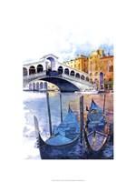 Rialto Bridge - Venice Italy Fine-Art Print
