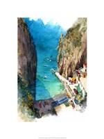 Marina de Praia - Amalfi Coast Fine-Art Print