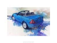 '82 Mercedes SLK Fine-Art Print