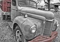 Farm Vehicle BW Fine-Art Print
