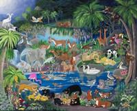 Lagoon #1 Playmates Fine-Art Print