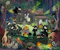 Witches in the Woods Fine-Art Print