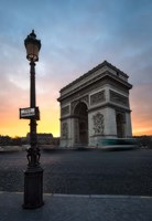 Paris Arch Of Triumph Fine-Art Print