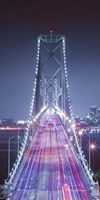 Oakland Bridge 3 Color Fine-Art Print