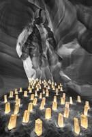 Candle Canyon BW - Pop Fine-Art Print