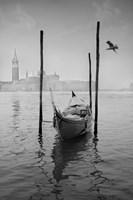 Gondola Y Gaviota Fine-Art Print