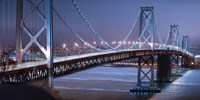 Oakland Bridge 2 Color Fine-Art Print