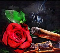 Rose Cigar Fine-Art Print