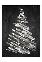 Chalkboard Tree 1 Fine-Art Print