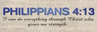 Philippians 4:13 Fine-Art Print