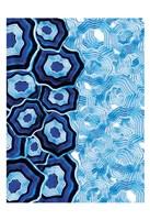Half Of Blue White Agates Fine-Art Print