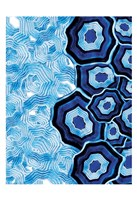 Other Half Of Blue White Agates Fine-Art Print