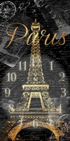 Paris Eiffel Time Fine-Art Print