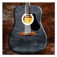Rustic Acoustic Guitar Fine-Art Print