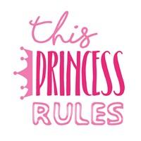 Princess Rules Fine-Art Print