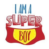 Super Boy Framed Print