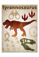 Tyrannosaurus Dinosaur Fine-Art Print