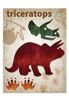 Triceratops Dinosaur Fine-Art Print