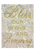 Bless Our Giving Fine-Art Print