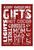Kiddy Christmas Fine-Art Print