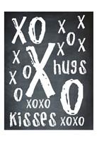 Hugs and Kisses BW Fine-Art Print