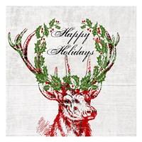 Hello Deer 3 Fine-Art Print