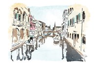 Venice In Ink Fine-Art Print