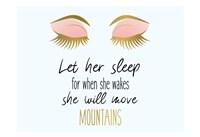 Let her Sleep Fine-Art Print