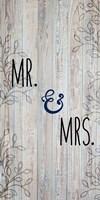 Mr and Mrs Fine-Art Print