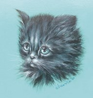 Black Kitten - 23A Fine-Art Print