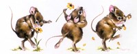 Mouse And Flower Fine-Art Print