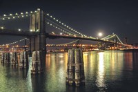 Moon Over Brooklyn Fine-Art Print