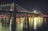 Moon Over Brooklyn Fine-Art Print