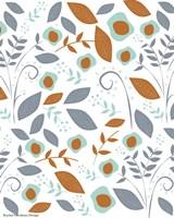 Fall Floral Pattern Fine-Art Print