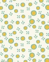Yellow Dots Pattern Fine-Art Print