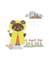 Bear Garden Fine-Art Print