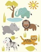 Safari Zoo Fine-Art Print
