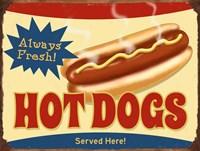 Always Fresh Hot Dogs Fine-Art Print