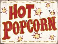 Hot Popcorn Distressed Fine-Art Print