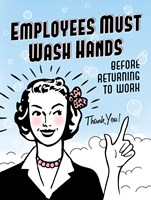 Employees Wash Hands Fine-Art Print
