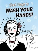 Washhands Fine-Art Print