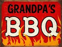 BBQ Grandpas Fine-Art Print